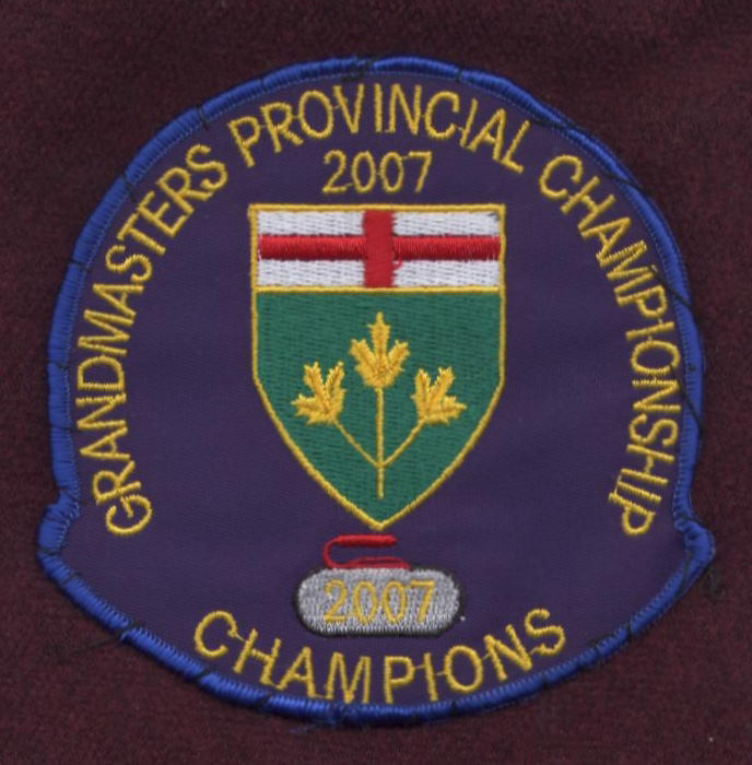 Grand Masters Provincial Crest