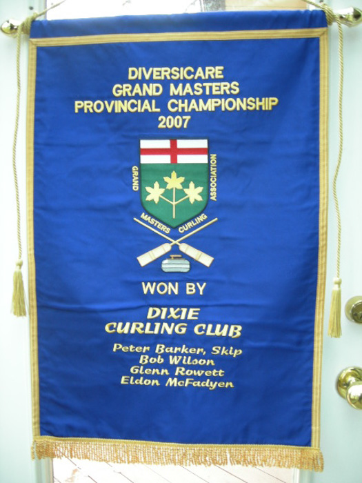 Grand Masters Winning team with Banner 2007 015